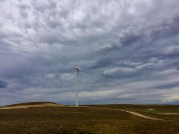 Wind Turbines - this was a very remote place we came across on the way to the coast. No one around!