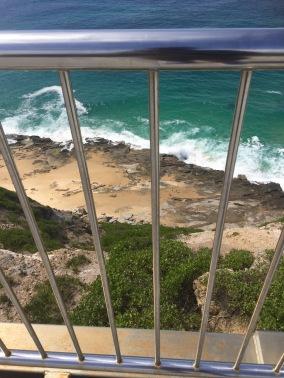 Very high cliffs..not for faint hearted..